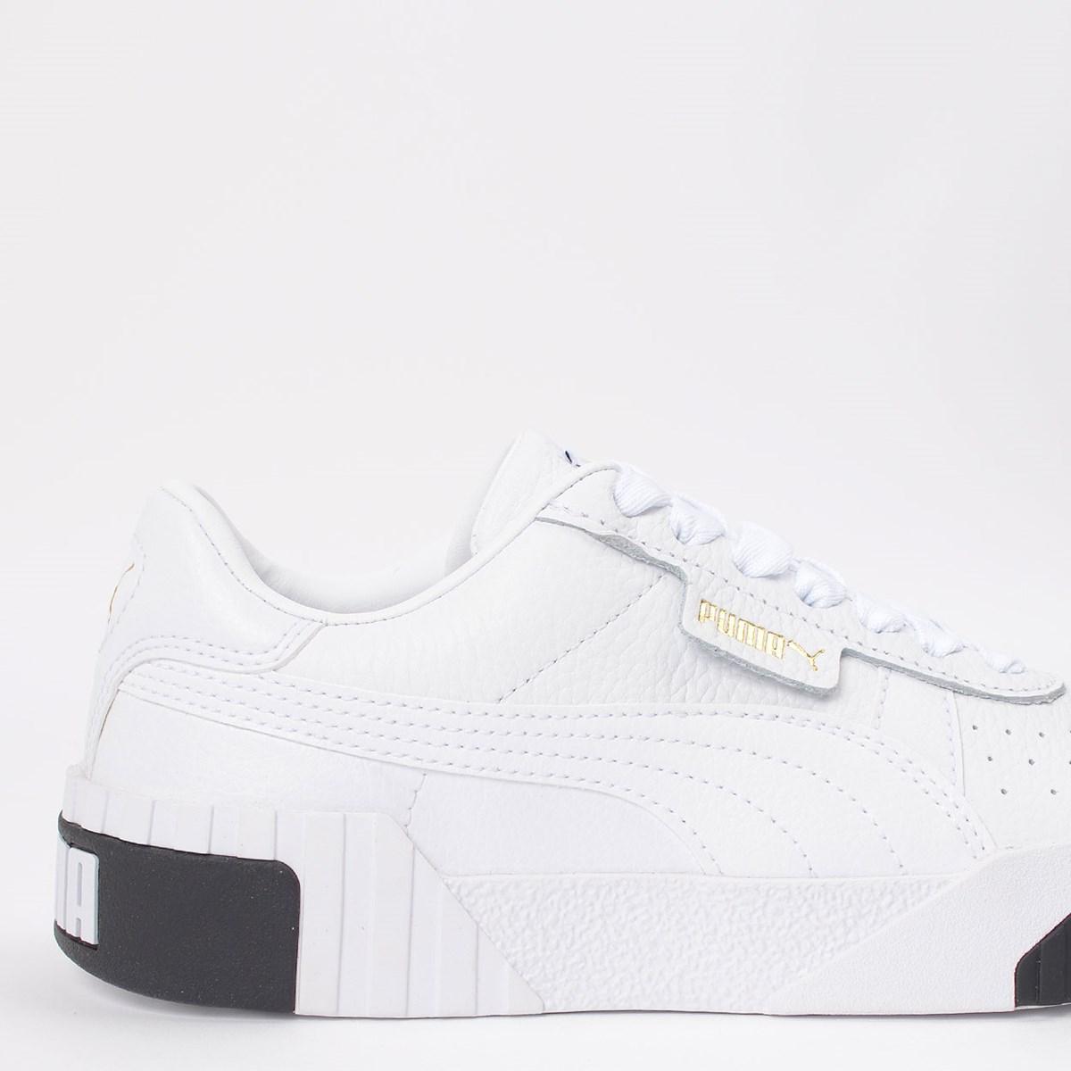 Tênis Puma Cali White Black 369155-04