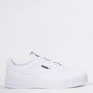Tênis Puma Carina Bold White White 37285301