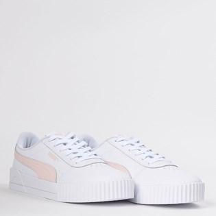 Tênis Puma Carina L White Rosewater 37032510