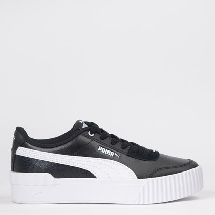 Tênis Puma Carina Lift Black White 37303106