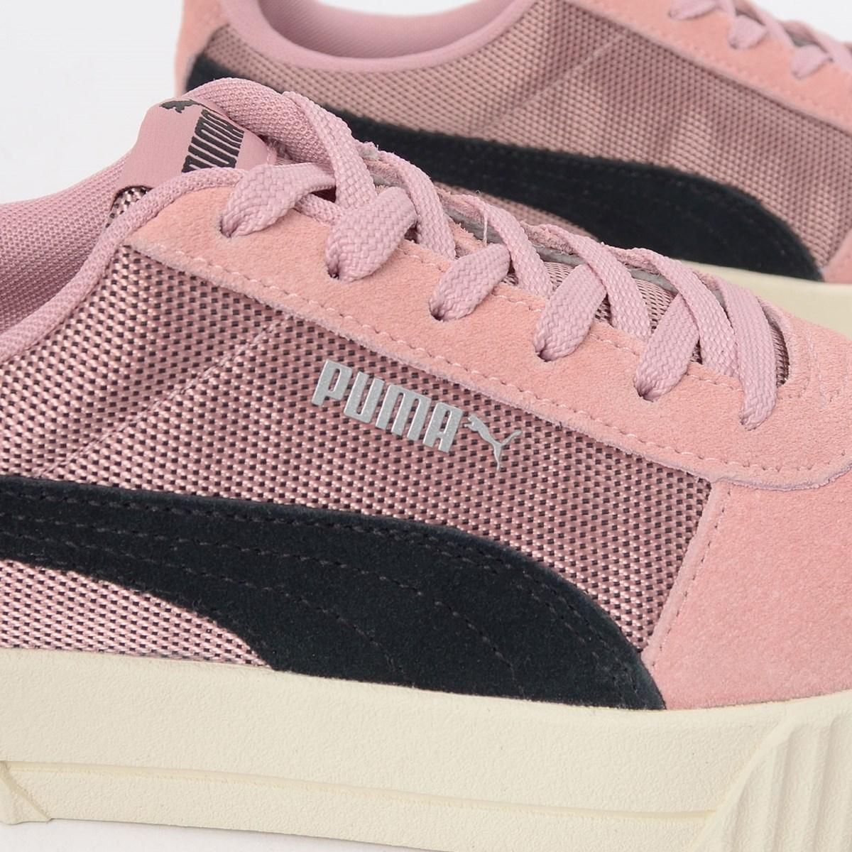 Tenis Puma Carina Lux SD Rosa Preto 37054002