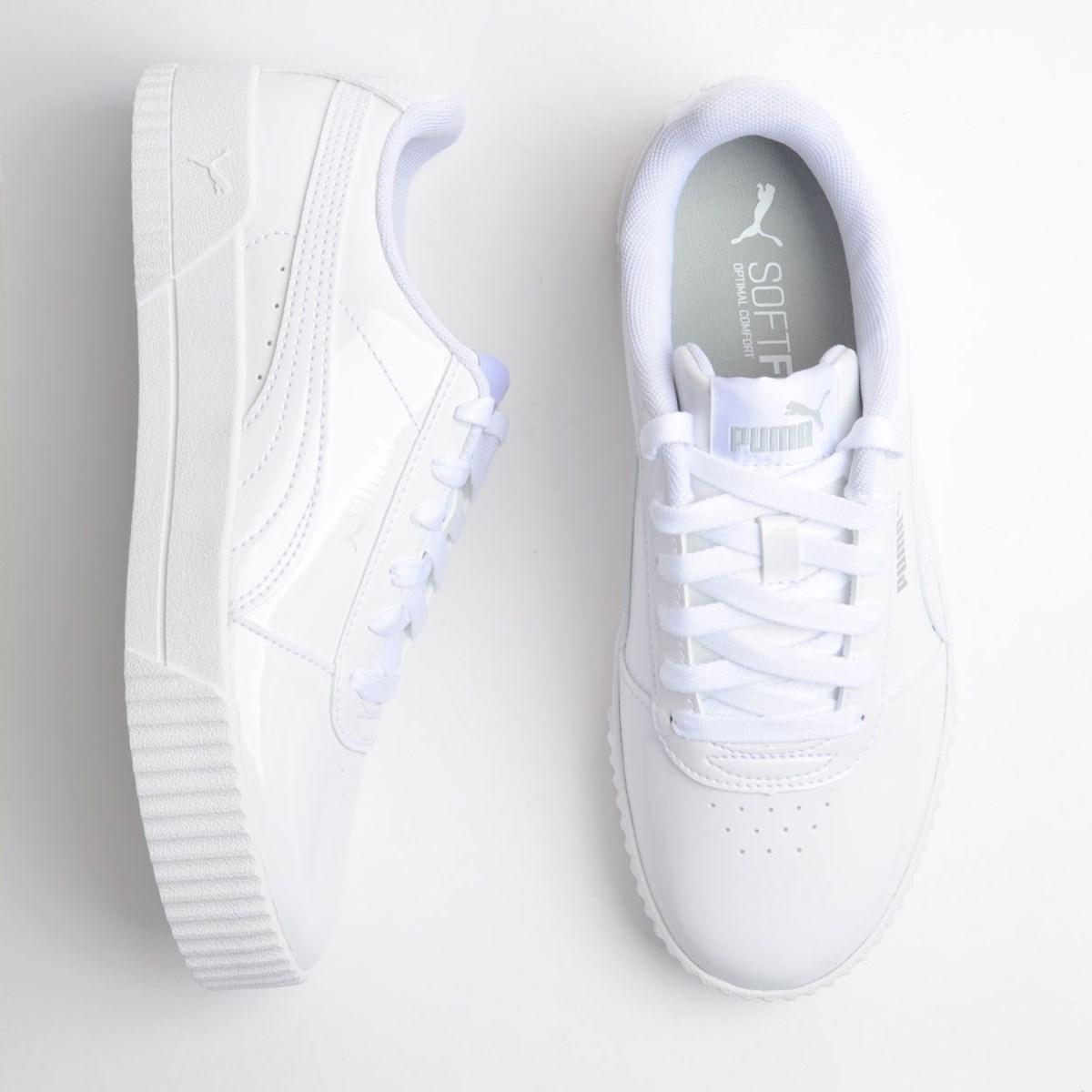 Tênis Puma Carina P Branco Branco 37091202