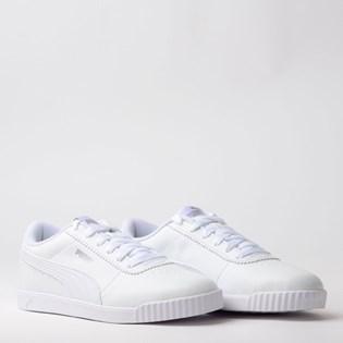 Tenis Puma Carina Slim SL Branco Branco 37054802
