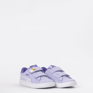 Tênis Puma Kids Smash V2 Bees V Purple Violet 37249702