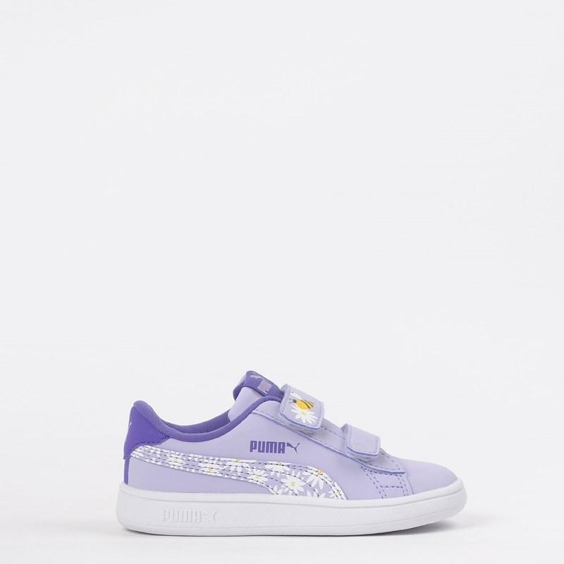 Tênis Puma Kids Smash V2 Bees V Purple Violet 37249702