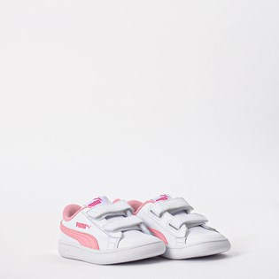 Tênis Puma Kids Smash V2 L V White Rose 36517418