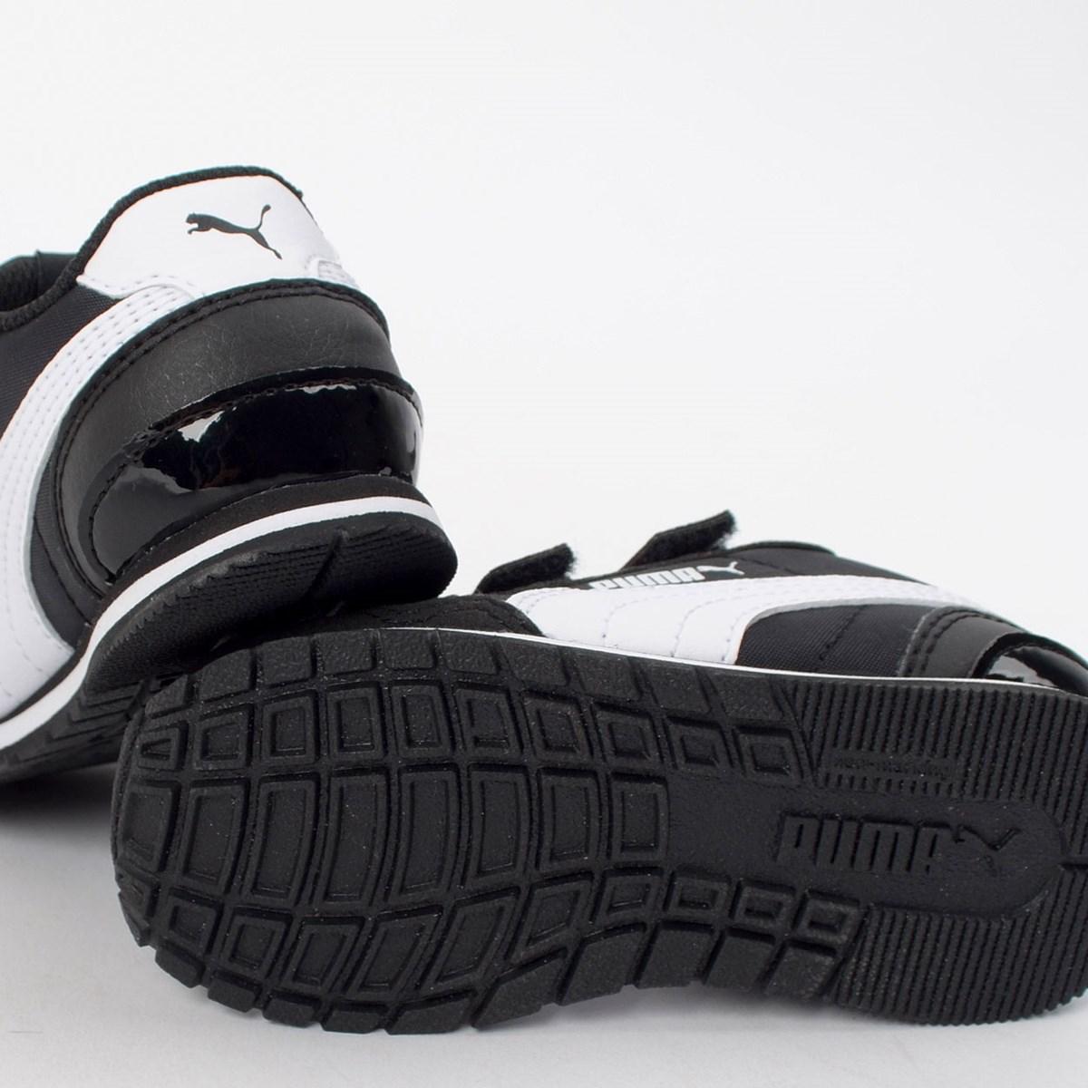Tênis Puma Kids ST Runner V2 NL V Black White 36529501