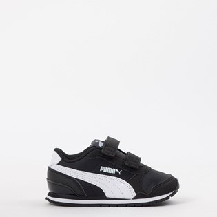 Tênis Puma Kids ST Runner V2 NL V Black White 36529501