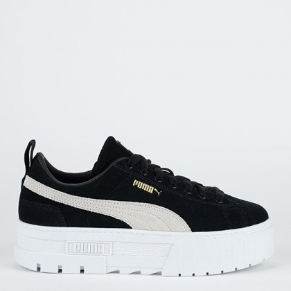 Tênis Puma Mayze Black White 380784-01
