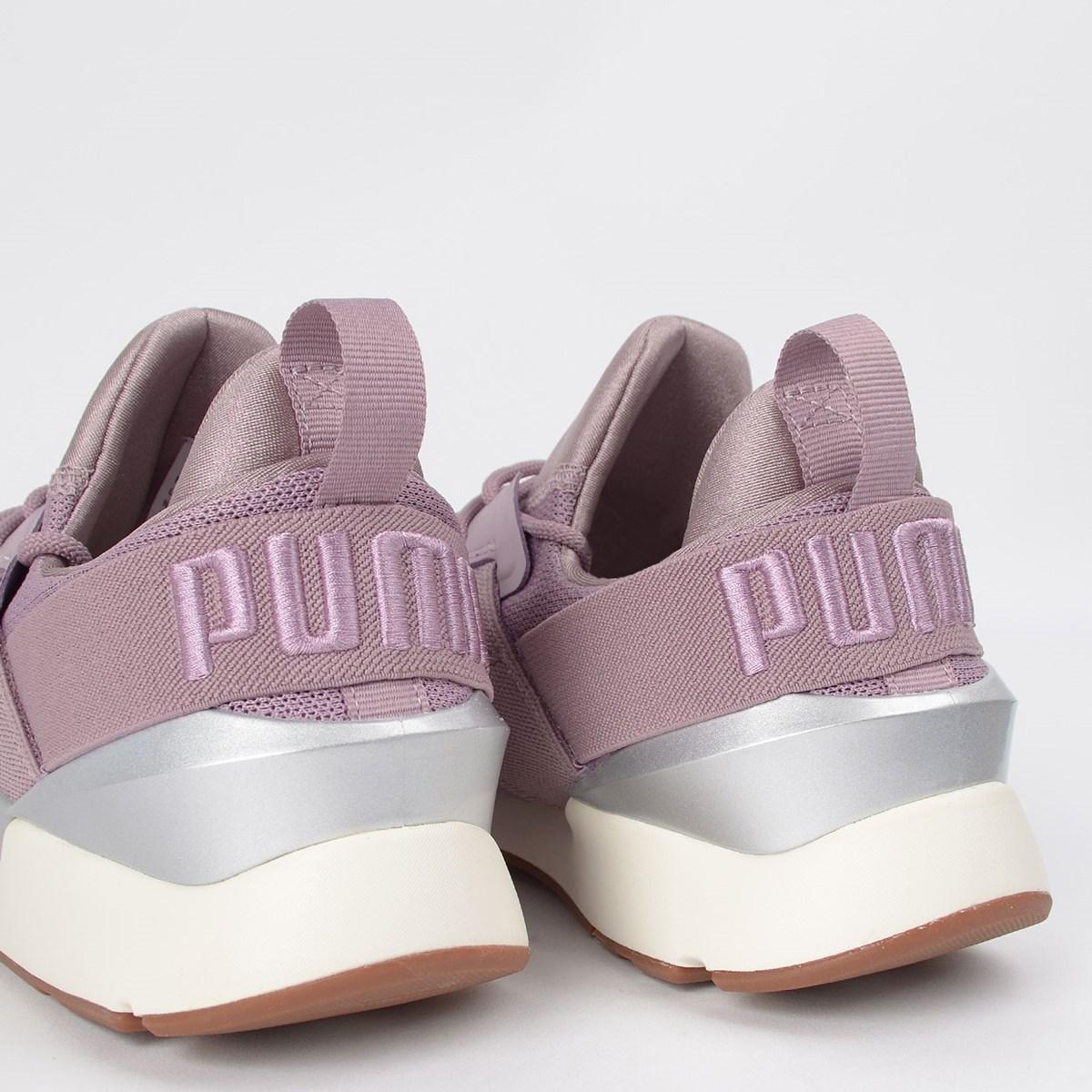 Tênis Puma Muse Mesh Sm Elderberry 37437001