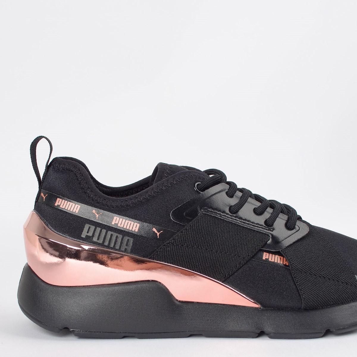 Tênis Puma Muse X-2 Metallic Black 37083801