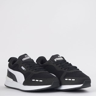 Tênis Puma R78 Black White 37311701