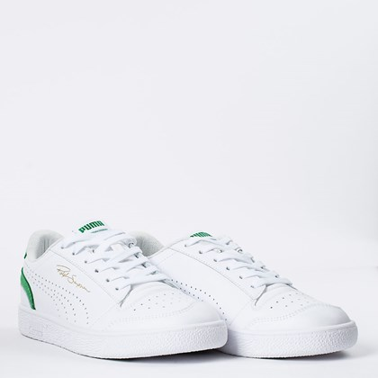 Tênis Puma Ralph Sampson Lo Perf Colorblock White Amazon Green 374751-06