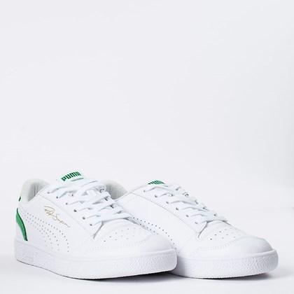 Tênis Puma Ralph Sampson Lo Perf Colorblock White Amazon Green 374751-06