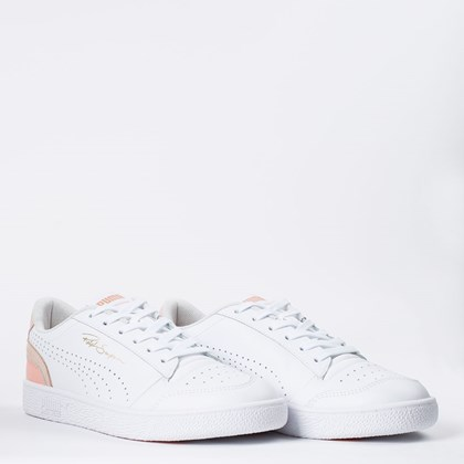 Tênis Puma Ralph Sampson Lo Perf Colorblock White Cloud Pink 374751-07