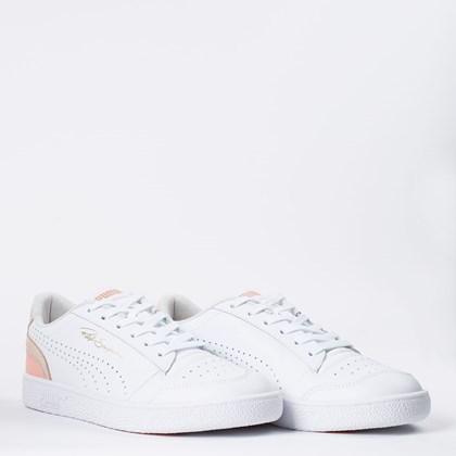 Tênis Puma Ralph Sampson Lo Perf Colorblock White Cloud Pink 374751-07