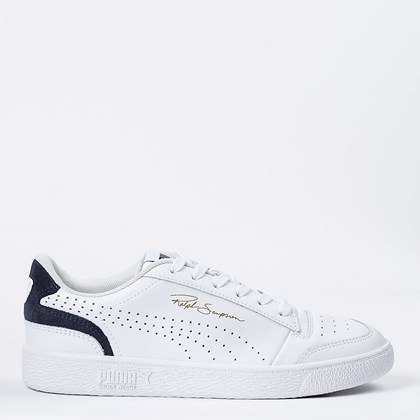 Tênis Puma Ralph Sampson Lo Perf Colorblock White Peacot 374751-01