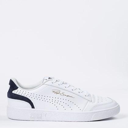 Tênis Puma Ralph Sampson Lo Perf Colorblock White Peacot 374751-01