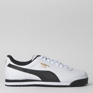 Tenis Puma Roma Basic White Black 35357204