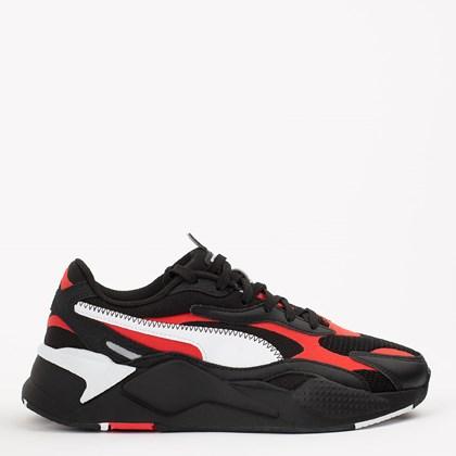 Tênis Puma RS-X3 Hard Drive Black Red 374991-01