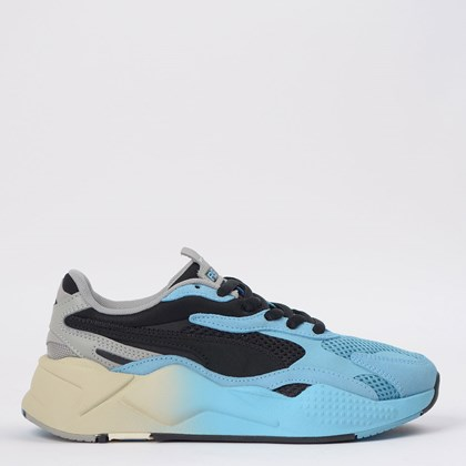Tênis Puma RS-X3 Move Black Blue 372429-01