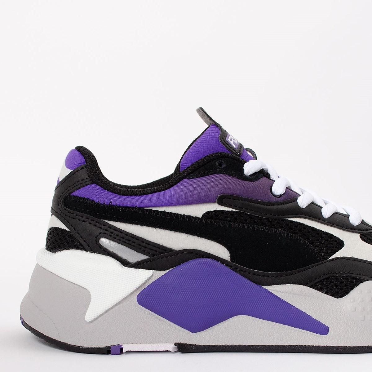 Tênis Puma RS-X3 Neo Fade Black Ultra Violet 373377-01