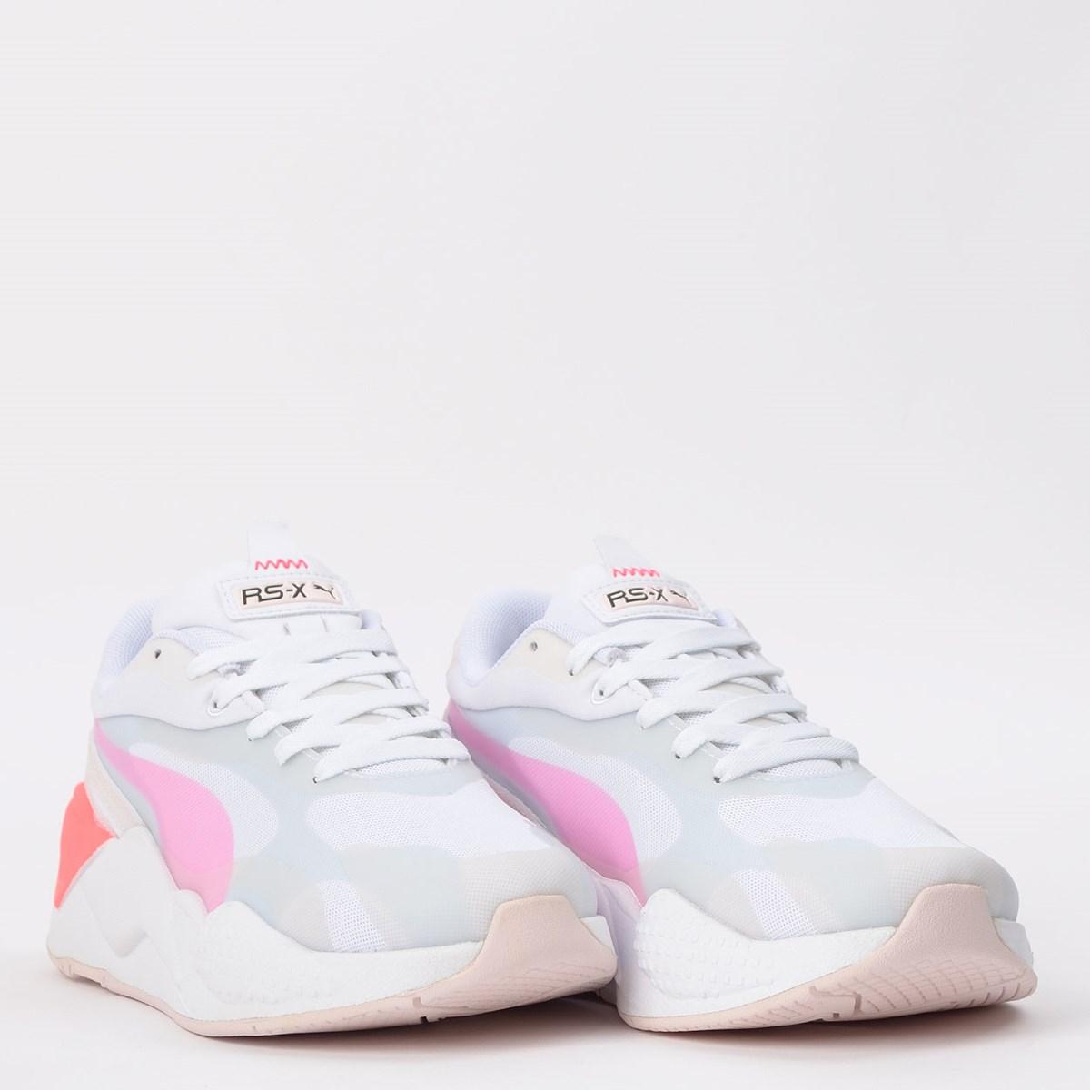 Tênis Puma RS-X3 Plas Tech Pink 371640-01