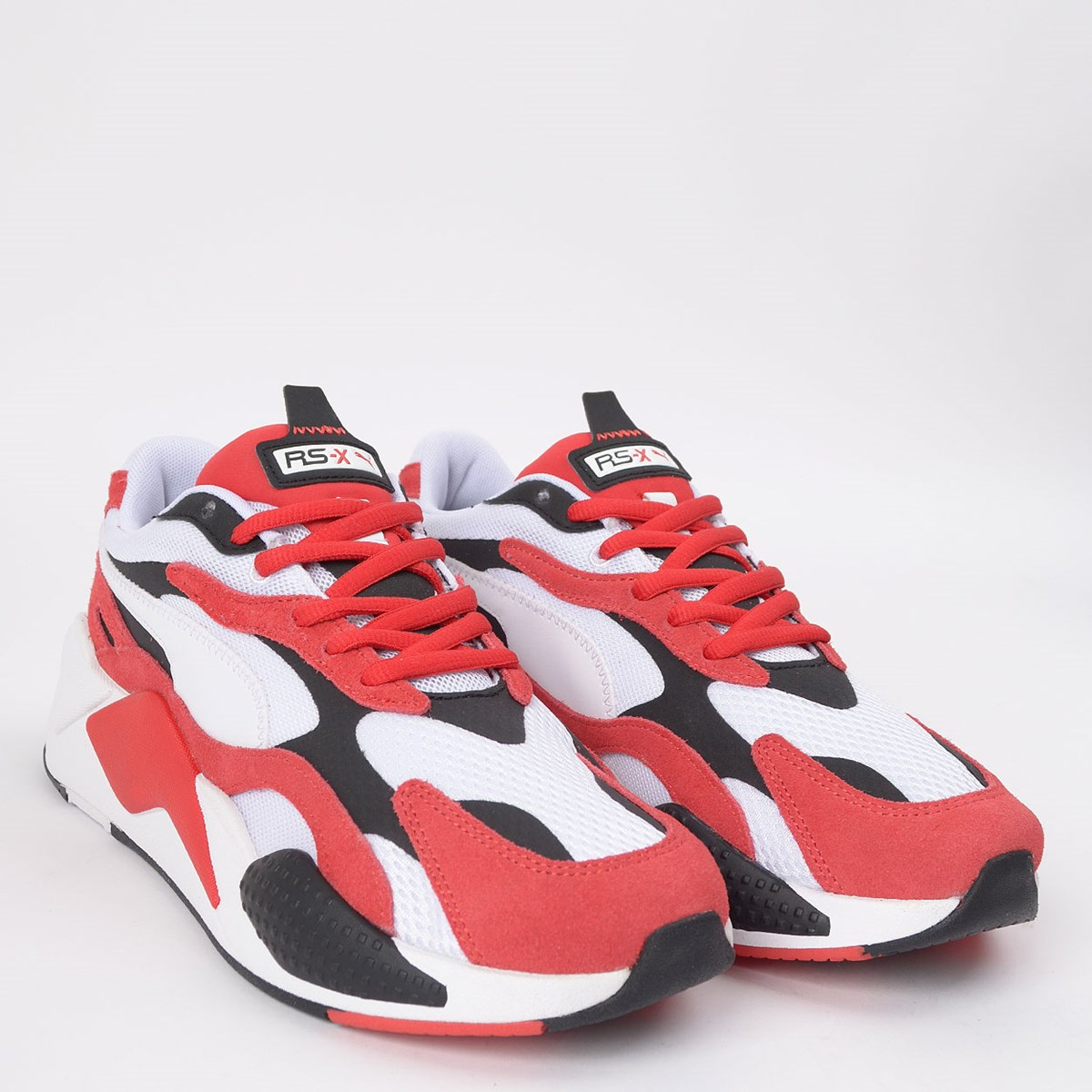 Tênis Puma RS-X3 Super White Red 372884-01