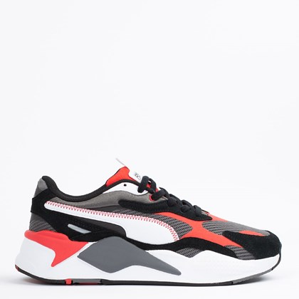 Tênis Puma RS-X3 Twill Airmesh Castlerock Poppy Red 368845-02