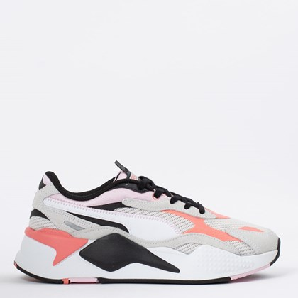Tênis Puma RS-X3 Twill Airmesh Nimbus Cloud Georgia Peach 368845-03