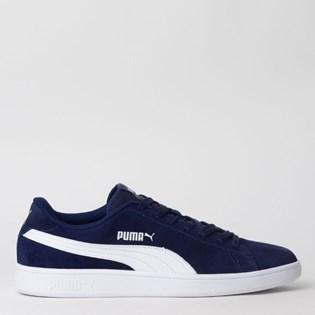 Tênis Puma Smash V2 BDP Azul Marinho Branco 36714704