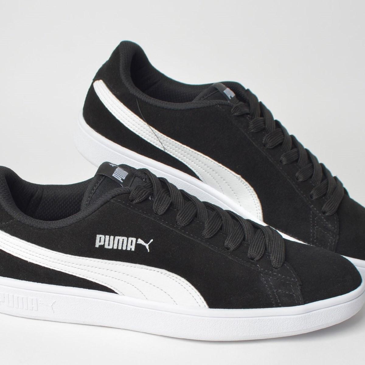 Tênis Puma Smash V2 Preto Branco 36714701