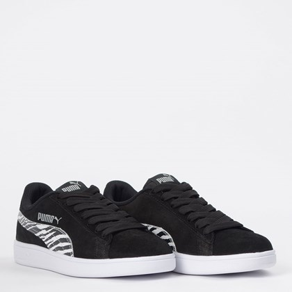 Tênis Puma Smash WNS BDP Black White 36863002