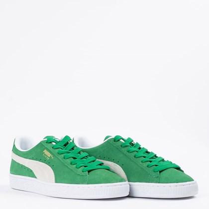 Tênis Puma Suede Teams Amazon Green White 380565-02