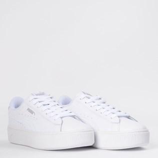 Tênis Puma Vikky Stacked L White White 36914302