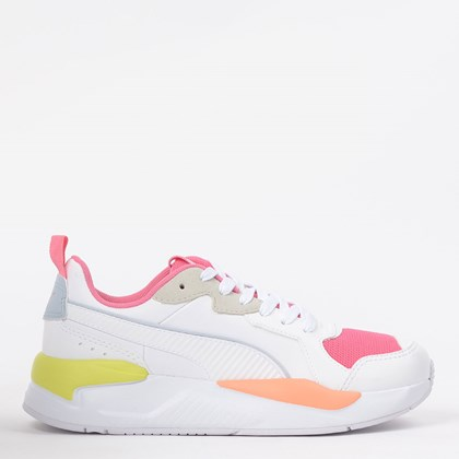 Tênis Puma X Ray Game BDP White Bubble Gum 37450203