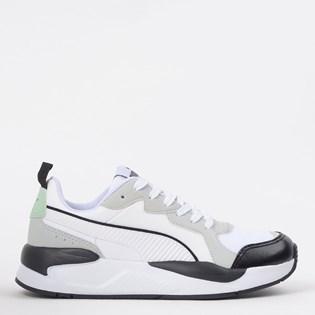 Tênis Puma X Ray Game BDP White Gray Violet 37450202