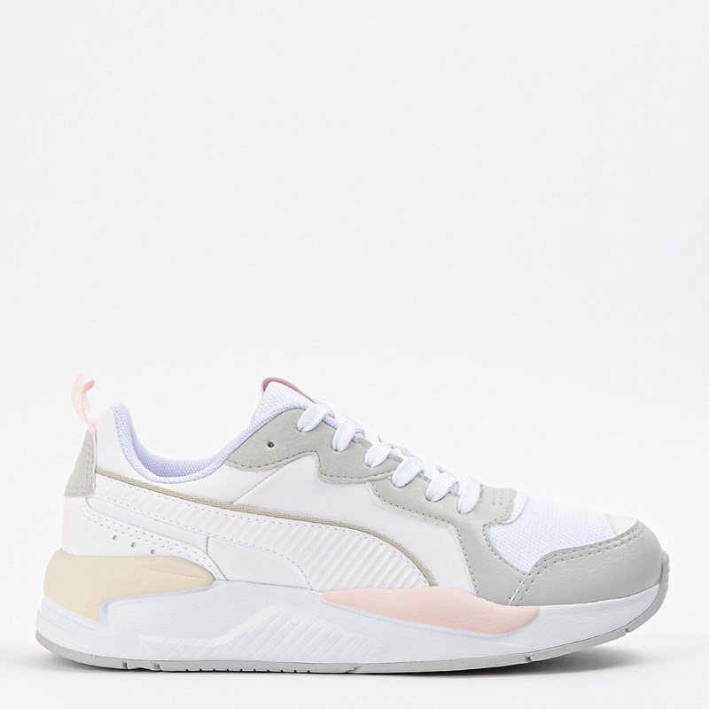 Tênis Puma X Ray Game BDP White Gray Violet Rosewater 37450204