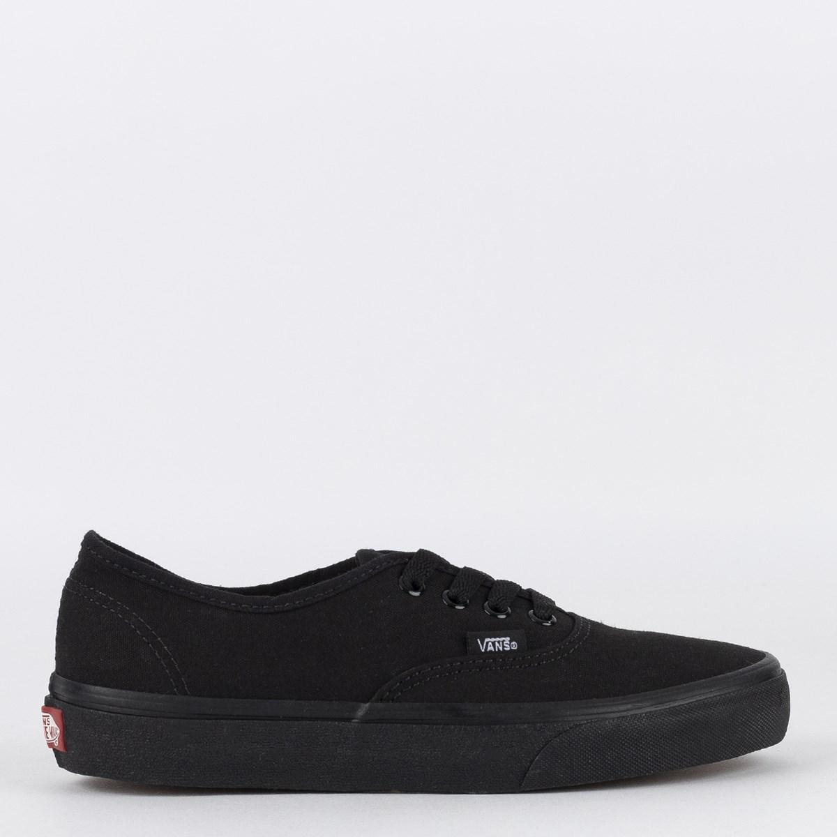 Tênis Vans Authentic Black Black VN - 0EE3BKA