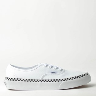 Tênis Vans Authentic Check Foxing True White True White VNBA38EMVJUP