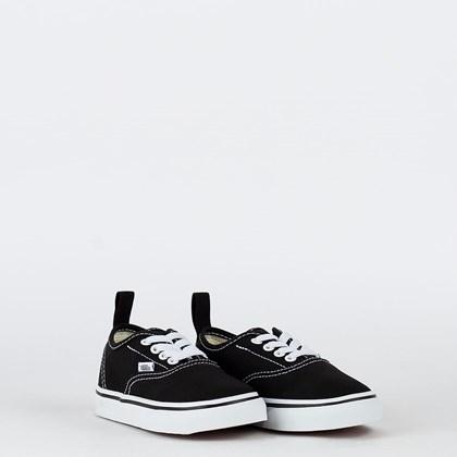Tênis Vans Authentic Elastic Lace Kids Black True White VN0A34A1LXN