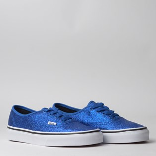 Tênis Vans Authentic Glitter Princess Blue True White VN0A2Z5IV4Q
