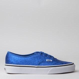 Tênis Vans Authentic Glitter Princess Blue True White VN0A2Z5IV4Q