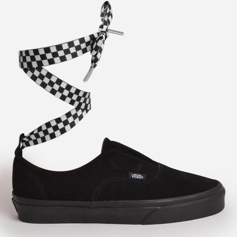 Tênis Vans Authentic Gore Checkerboard Wrap Black Black VN0A38ETVL5P