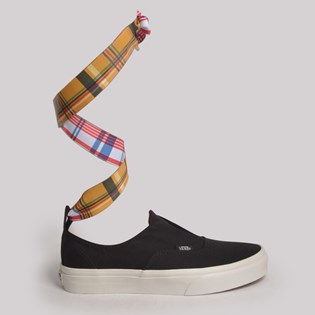Tênis Vans Authentic Gore Mixed Wrap Black Plaid VN0A38ETV7N