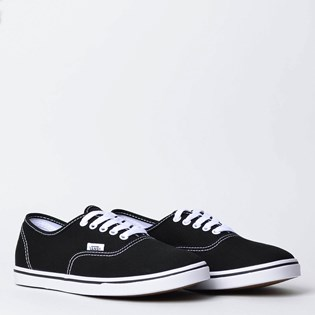 d5e20a3be2aec Tênis Vans Authentic Lite Canvas Black White VN0A2Z5J187 - Loja Virus