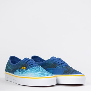 Tênis Vans Authentic National Geographic Ocean True Blue VN0A2Z5I002
