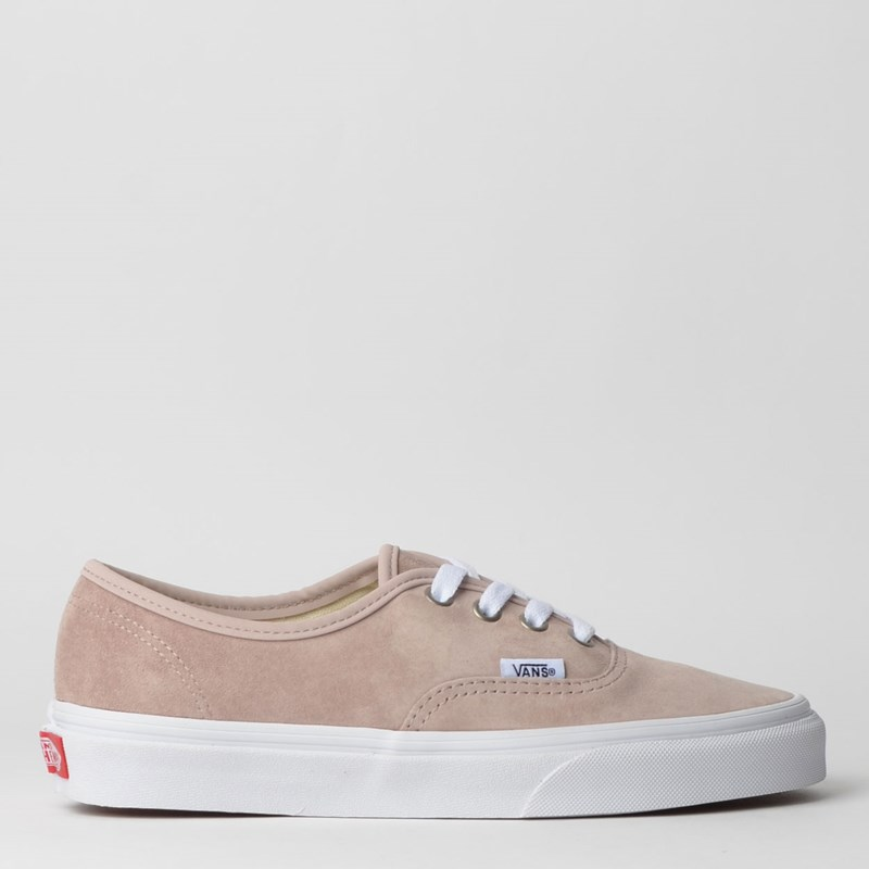 Tênis Vans Authentic Pig Suede Shadow Gray True White VN0A2Z5IV79