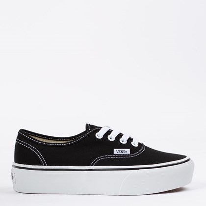 Tênis Vans Authentic Platform 2.0 Black VN0A3AV8BLK