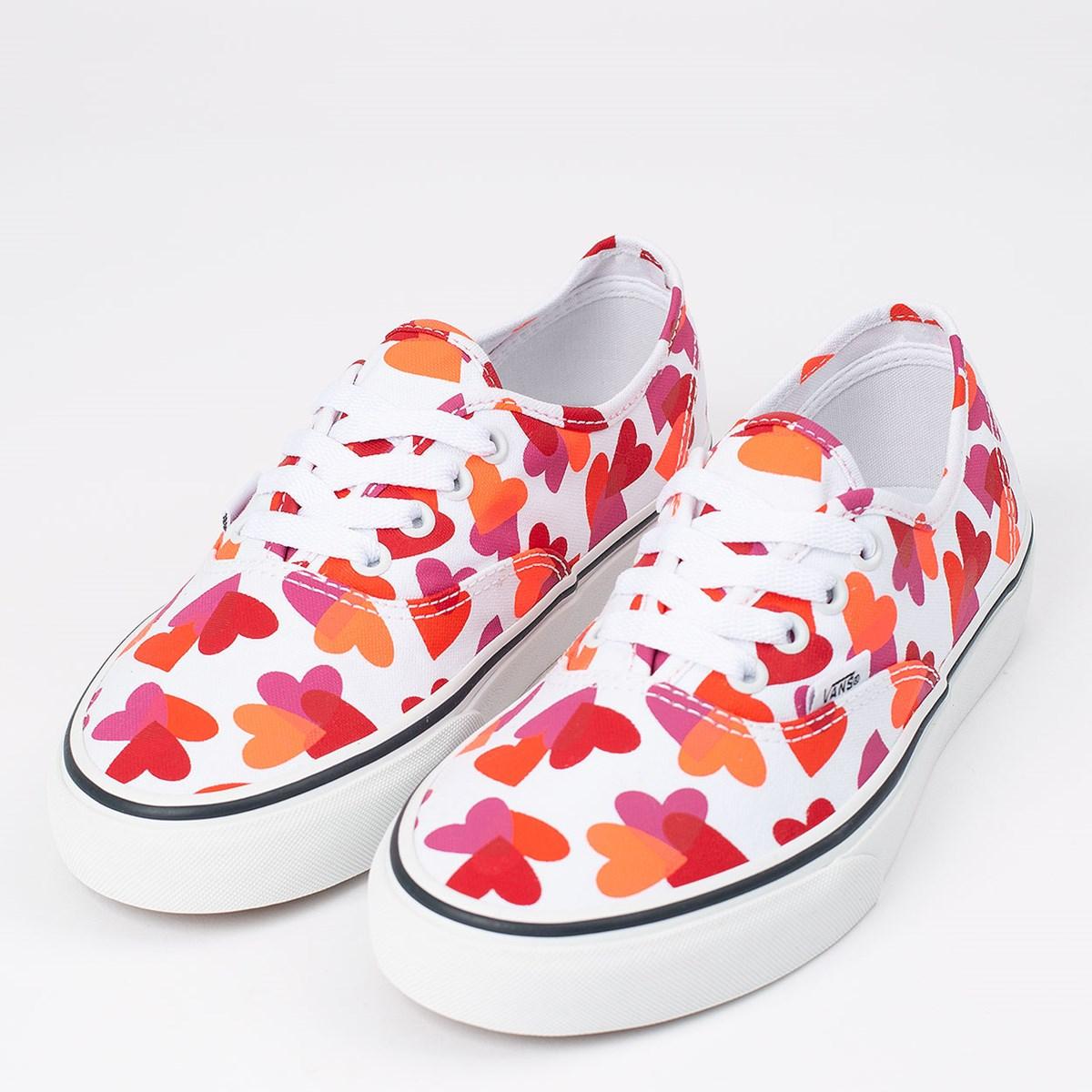 Tênis Vans Authentic Valentines Hearts True White VN0A348A40Q